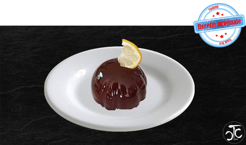 Entremet citron menthe chocolat (recette originale)